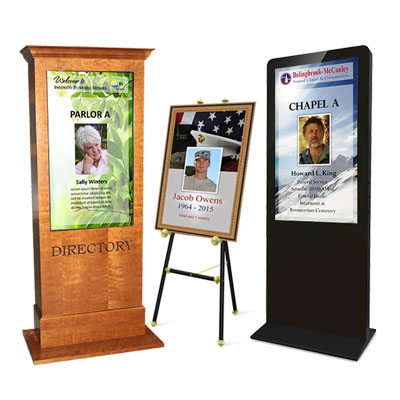 Free Standing Digital Sign Solutions