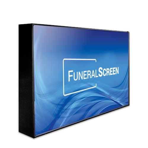 Wall Mounted Display Fixtures : A La Carte Solutions - FuneralScreen